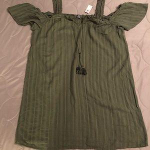 NWT Aerie size XL Cold Shoulder Dress